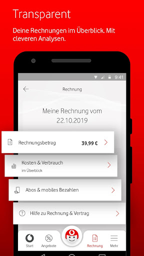 MeinVodafone  screenshots 2