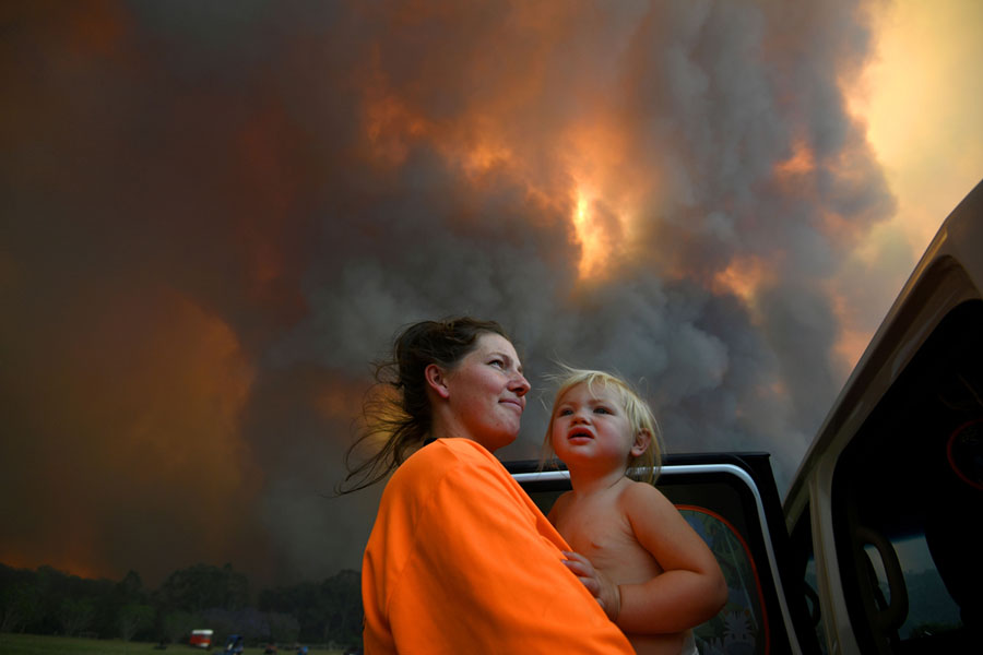 Australia ravaged by bushfires