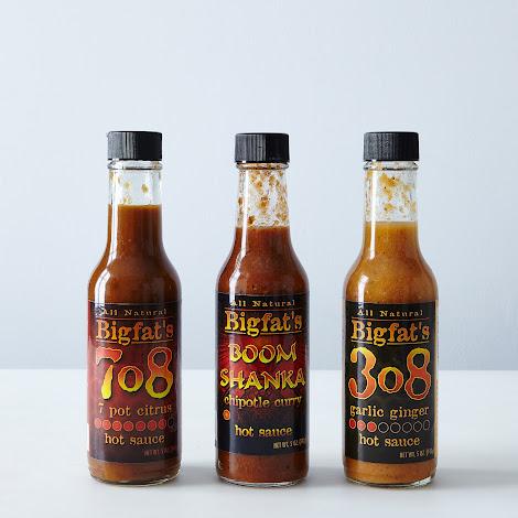 Bigfat's Hot Sauces (Set of 3)