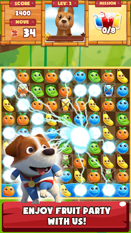 android Tong Daeng Fruity Crush Screenshot 0
