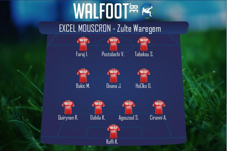Excel Mouscron (Excel Mouscron - Zulte Waregem)