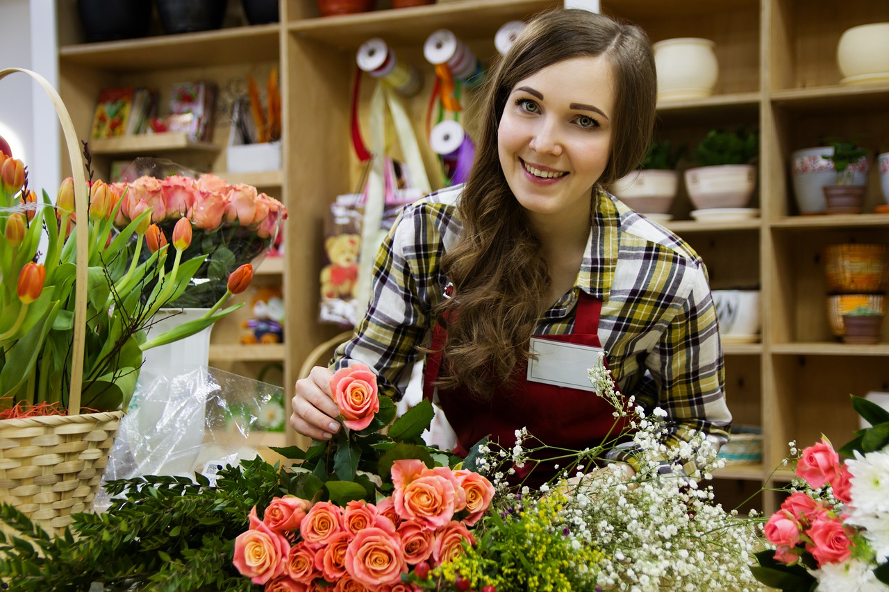 A florist. Gift certificates to local businesses are great real estate closing gifts