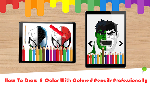 Coloring Book For SuperHeroes Apps Apk Free Download Android PC Windows