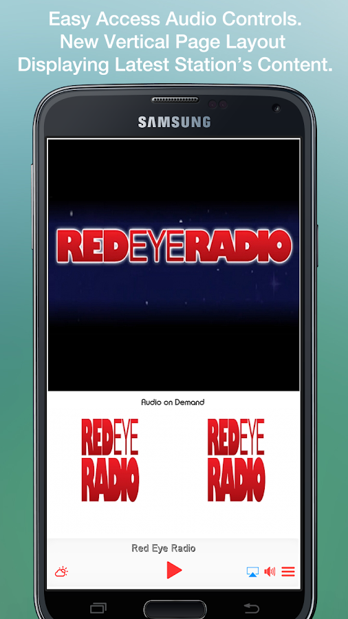 Red Eye Radio- screenshot