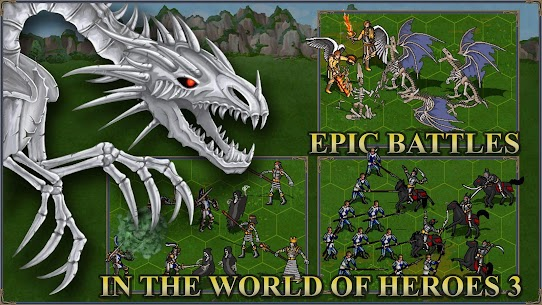Castle fight: Heroes 3 medieval battle arena Mod Apk Download For Android 1