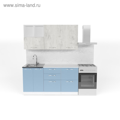 Кухонный гарнитур Мария стандарт 4 1600 мм