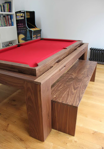 Dovetail jointed Bench for Pool Table