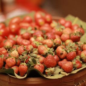by Bobby Dozan - Food & Drink Fruits & Vegetables ( fruit, fresh, food, garden, strawberry, fresh fruit, produce )