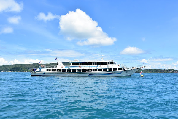 Travel from Koh Lanta to Ao Nang by high speed ferry