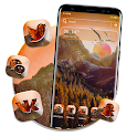 Sunrise In Valley Theme icon