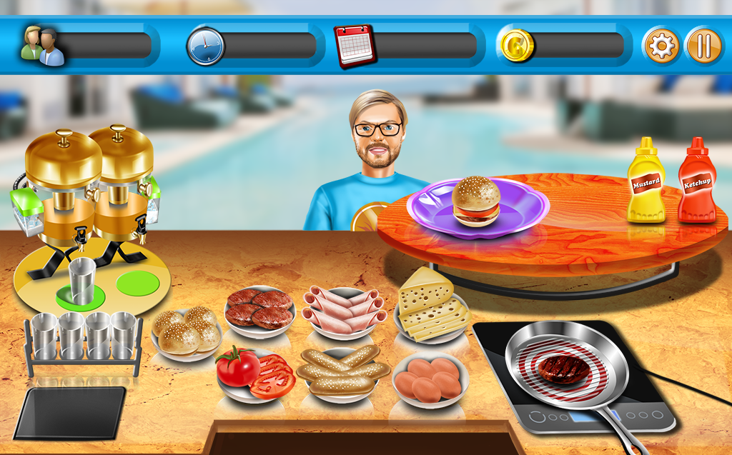 Cooking Rush Restaurant Game- screenshot