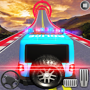 Police Mega Ramp Car Stunts 3d Driving Car Games