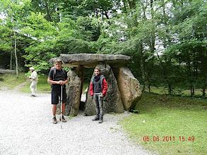 Photo: Reconstitutions aux grottes de Sare