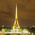 Paris Attraction Eiffel Tower icon
