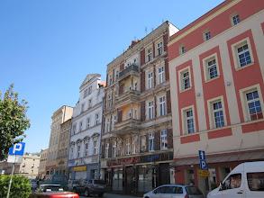 Photo: Ząbkowice - kamieniczki na rynku