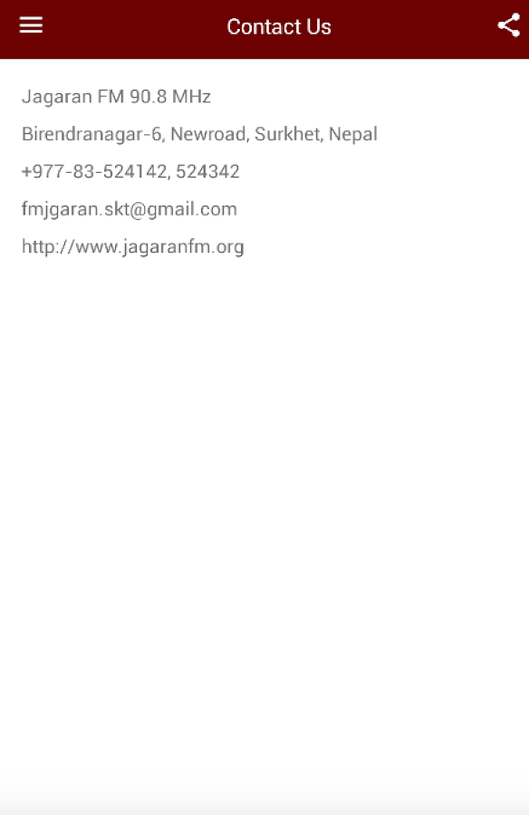 Jagaran FM- screenshot