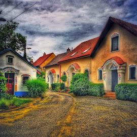 by Johana Starova - City,  Street & Park  Neighborhoods
