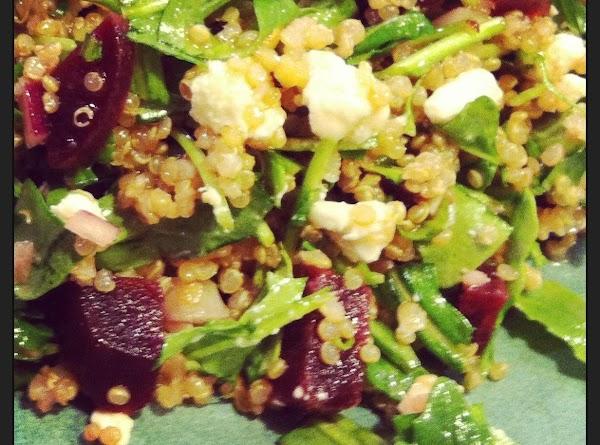 Quinoa Salad With Beets And Arugula Recipe