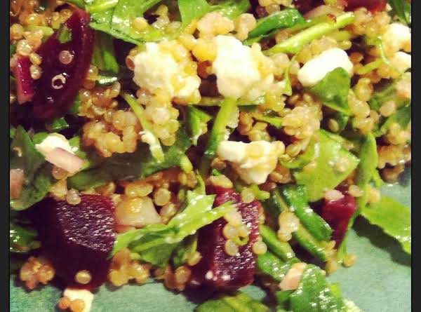 Quinoa Salad With Beets And Arugula Recipe