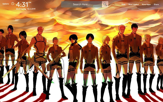 Attack On Titan Levi Wallpapers Hd Theme