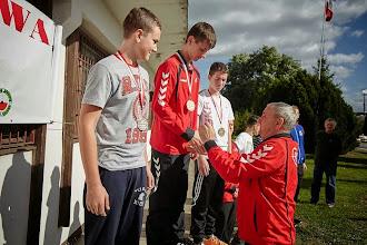 Photo: Mistrzostwa Polski Młodzików w strzelectwie (25.09.2014) - Zdobywca 3 złotych medali Kacper Jurasz