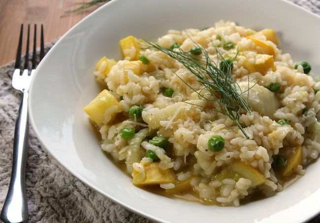 Summer Vegetable Risotto Recipe