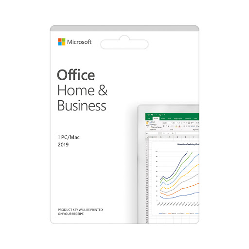 Phần mềm Office Home and Business 2019 All Lng APAC EM PKL Online DwnLd C2R NR (T5D-03181)