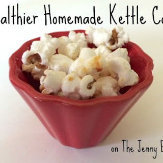Healthy Homemade Kettle Corn Recipe with Monk Fruit In The Raw