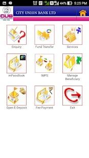 CUB Mobile Banking- screenshot thumbnail