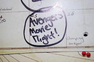 Photo: We've had the date on the calendar for a while! It's family movie night!