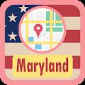 USA Maryland Maps icon