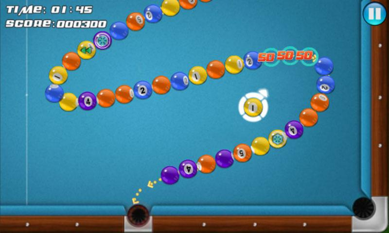 Pool Marble Blast- screenshot