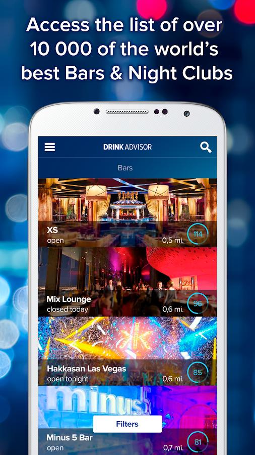 DrinkAdvisor: Bars & Cocktails - screenshot
