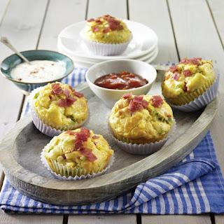 Savory Sour Cream Muffins.