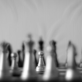 One Pawn could change the course of a war. by Shashank Shekhar - Artistic Objects Other Objects ( chess, play, object, game, pawn )