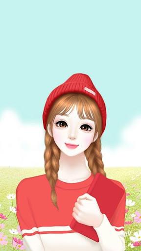 Cute Laura Wallpaper HD 4K screenshot 5