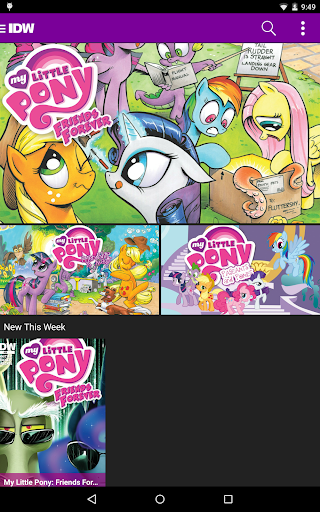 My Little Pony Comics 1.3.1 screenshots 9