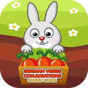 German Verbs Conjugations Rabbit Game