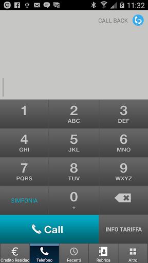 Simfonia 2.0 - low cost calls