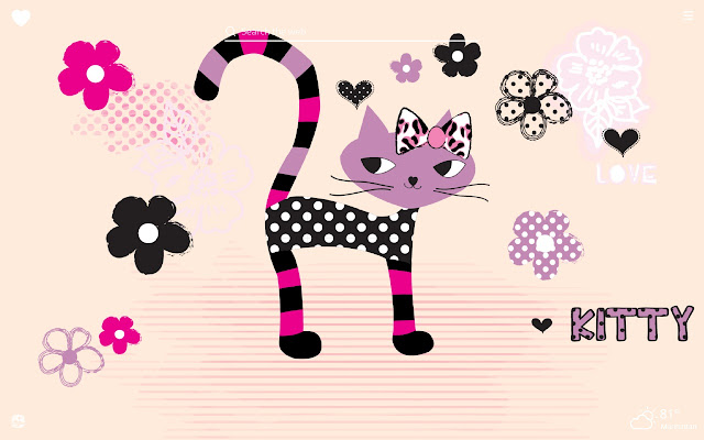 Cute Kitty HD Wallpapers New Tab Theme