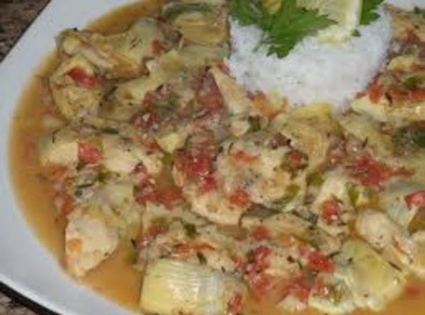 Chicken Fricassee Recipe