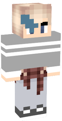 i made this skin for a new player. i hope he enjoys it