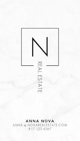 Nova Real Estate - Business Card item