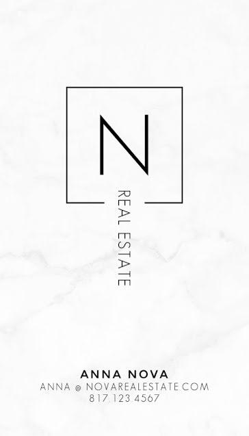 Nova Real Estate - Business Card Template