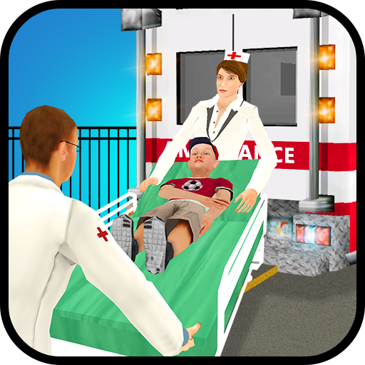 Kids Hospital Emergency City Rescue Service