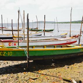 Itapissuma by Claudio Maranhao - Landscapes Beaches ( brazil, boats, itapissuma, pernambuco, beach )