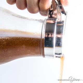 4-Ingredient Sugar-free Maple Syrup (Low Carb, Gluten-free).