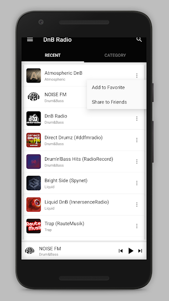 DnB Radio screenshot 10