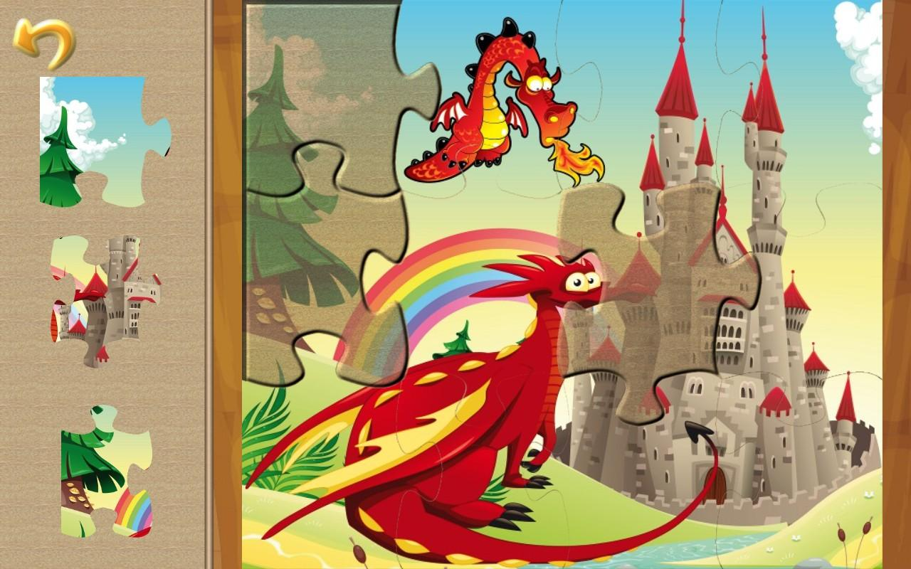 Magic Realm Puzzles for kids- screenshot