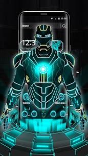 3D Neon Hero Theme apk download 3